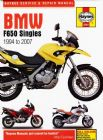 BMW F650 Singles (94 - 07) Haynes Manual